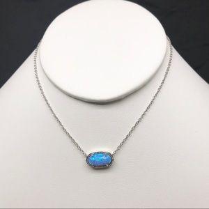 Kendra Scott Elisa Ocean Kyocera opal S Necklace